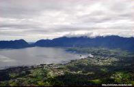 View Danau Maninjau dari Puncak Lawang