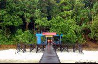 Dermaga Pulau Kakaban