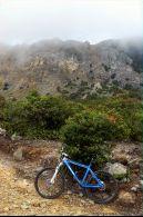 Trek lumayan cape, bersepeda dari Cisurupan sampai Kawah Papandayan..